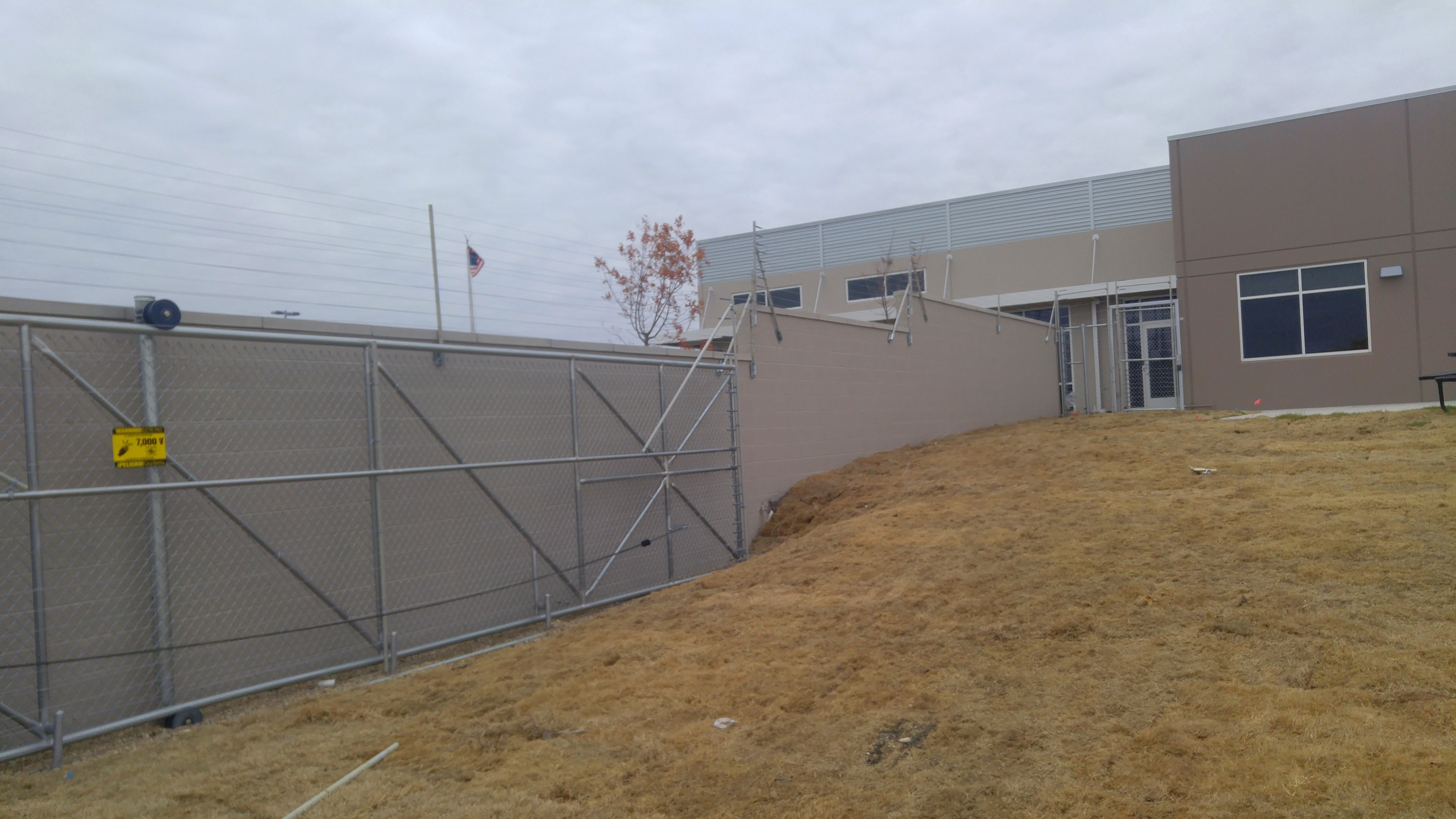 Wall Fencing Option