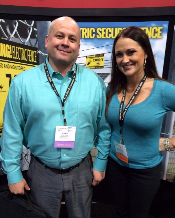 Chad Cullen-ABF Freight with Mary Faye-EGD