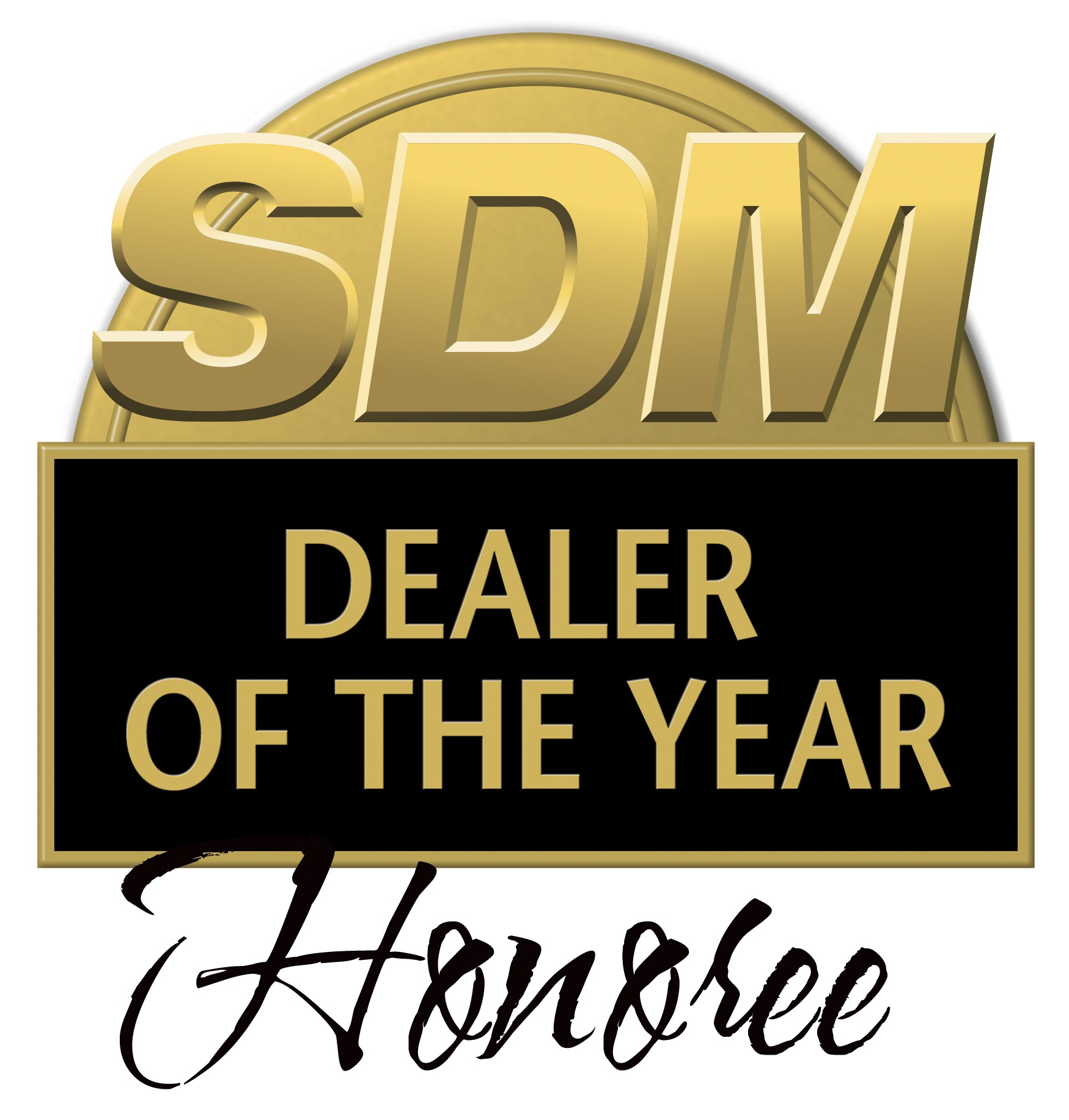 SDM Dealer of  the Year Honoree Logo
