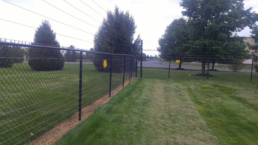 Electric Guard Dog Fence Install