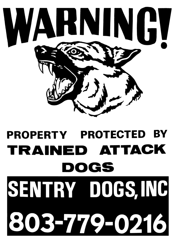 Trained Attack Dogs