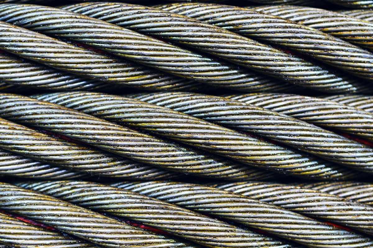 effective layered security is integrated, like banded cable