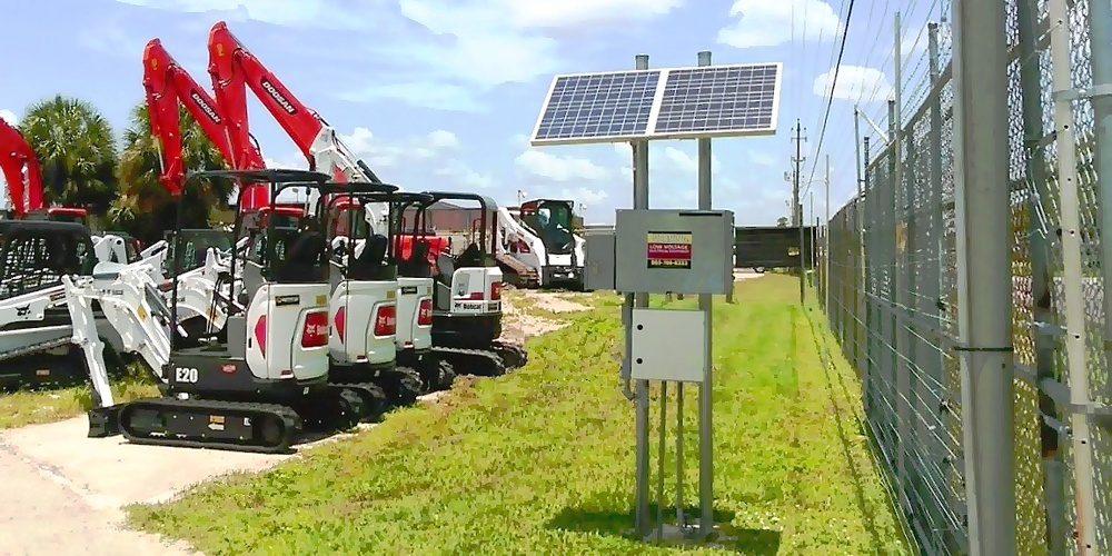 Solar Powered Electric Fence System for Rental Companies & Properties